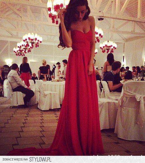 sukienka różowa maxi