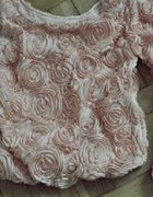 sweterek różyczki