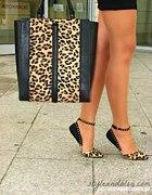 balerinki w panterkę Zara 39...