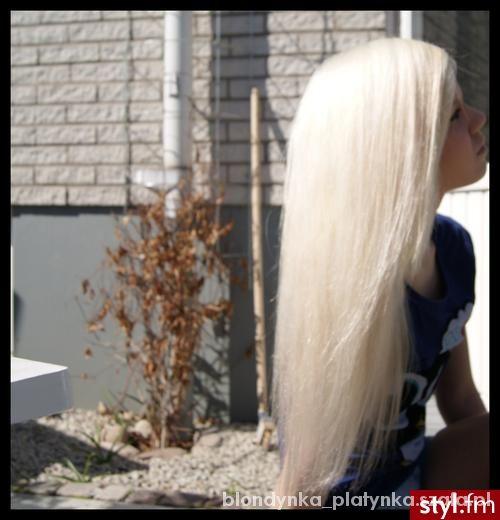 Fryzury Białe