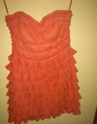 morelowa sukienka H&M r36 38