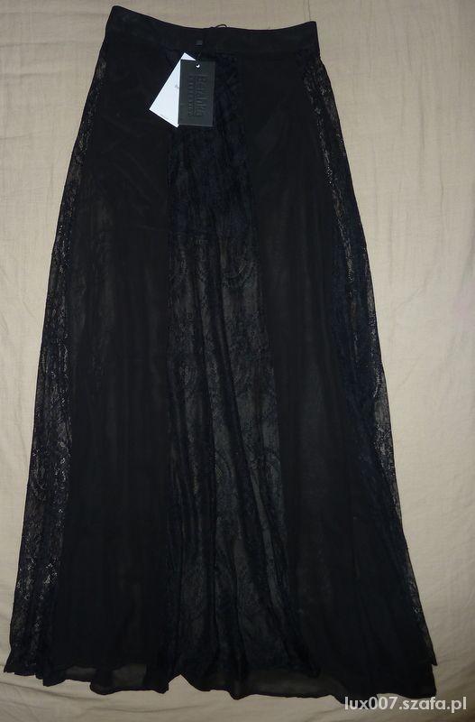 Spódnice Bershka spódnica maxi koronka nowa S
