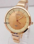 Złoty zegarek Gold Rose moda 2014 piękny