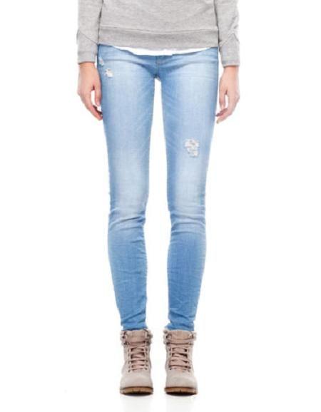 spodnie jeans stradivarius