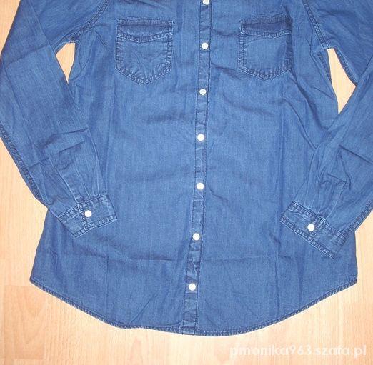 Koszule koszula jeansowa