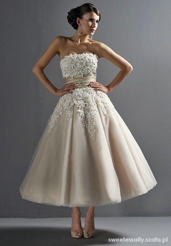 Justin Alexander model 8465 suknia ślubna nude