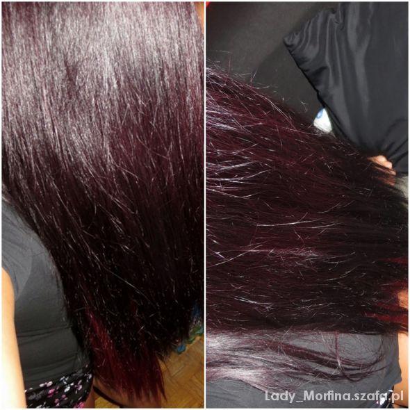 Fryzury Moje odświeżone kolorkiem włosy