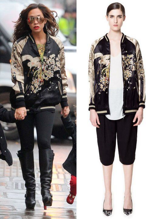 zara embroidered jacket...