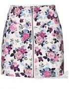 Spódnica floral zip H&M