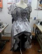 MOJE WYKONANIE suknia pod styl wenecki