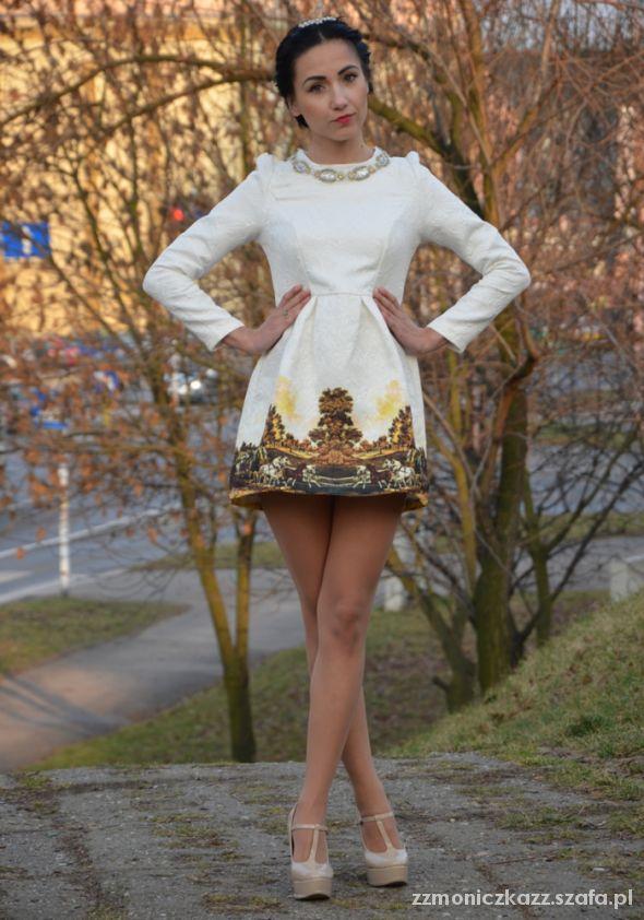 Blogerek white dress