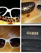 guess okulary białe