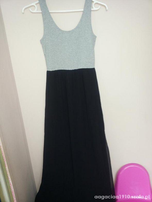 Spódnice sukienka HM mega długa poszukiwana MAXI