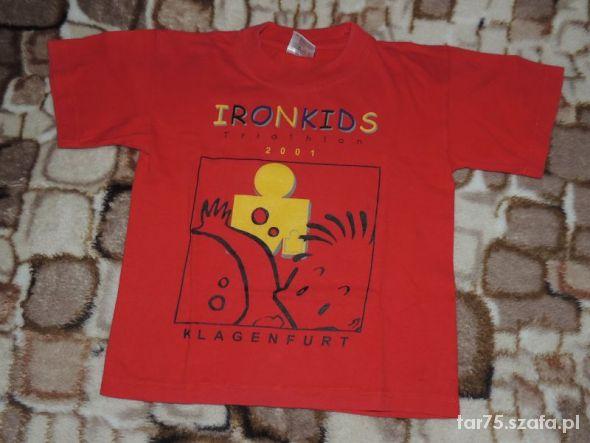 Koszulki, podkoszulki Czerwona koszulka