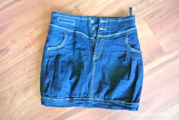 Spódnice fajna jeansowa s