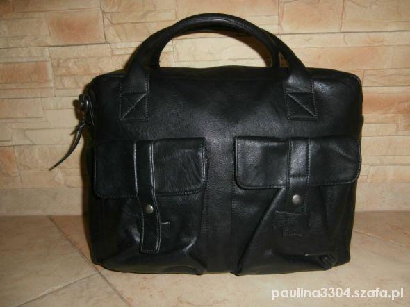 czarna torba house A4