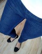 tregginsy jeansowe