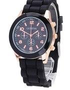 zegarek czarny geneva