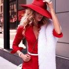 cudowny czerwony zestaw