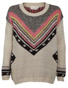 Sweter New Look Aztec print