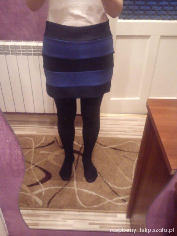 Spódnice Spódniczka w pasy jak nowa L XL