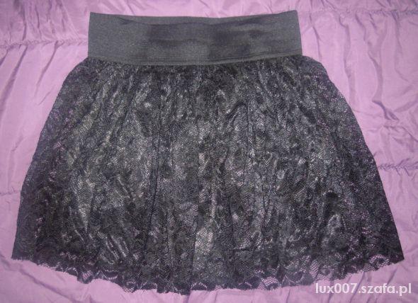Spódnice Tally Wejl spódniczka koronka rozkloszowana z koła