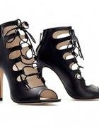 sznurowane sandały ZARA 36