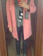 Nareszcie Moj Różowy płaszcz z Zary Cukierek...