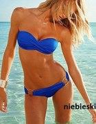 bikini kółeczka kobalt