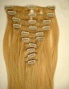 treska clip in naturalne włosy...