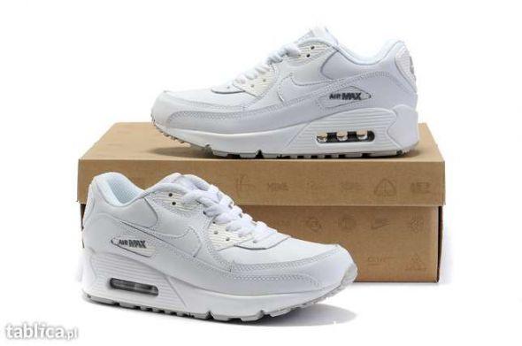 białe Nike Air Max lub Air Force 385 rozmiar