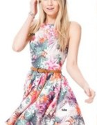 MISO FLORAL sukienka