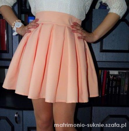 HAND MADE rozne kolory rozkloszowana spodniczki