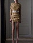Cudowna złota sukienka mini
