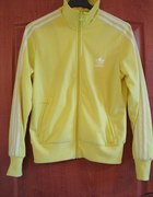 żółta bluza adidas znak z tyłu roz S M