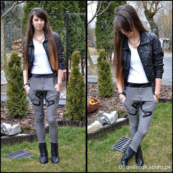 Blogerek Spodnie dresowe