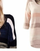 Sweterek H&M pasele