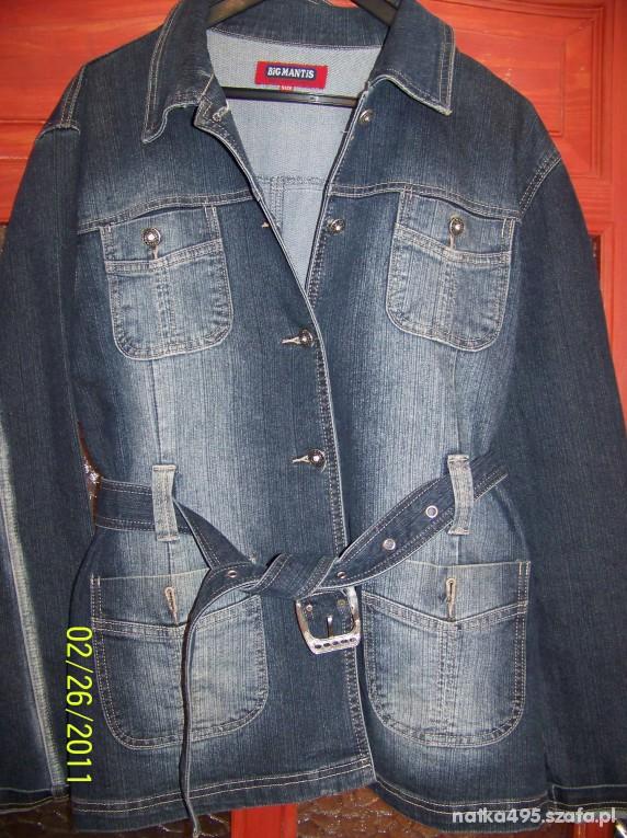 Płaszczyk jeansowy