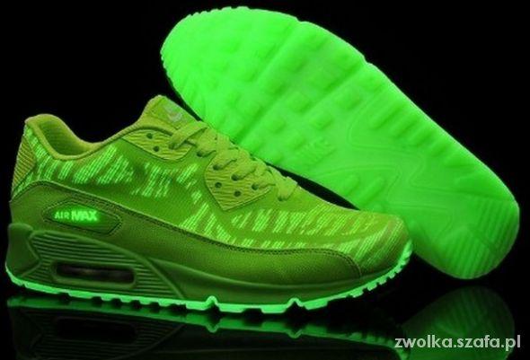Nike air ax glow in the dark neon
