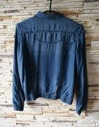 kurtka jeansowa zestaw jeans ramoneska...