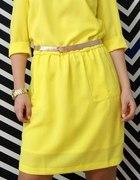 Sukienka Mohito żółta