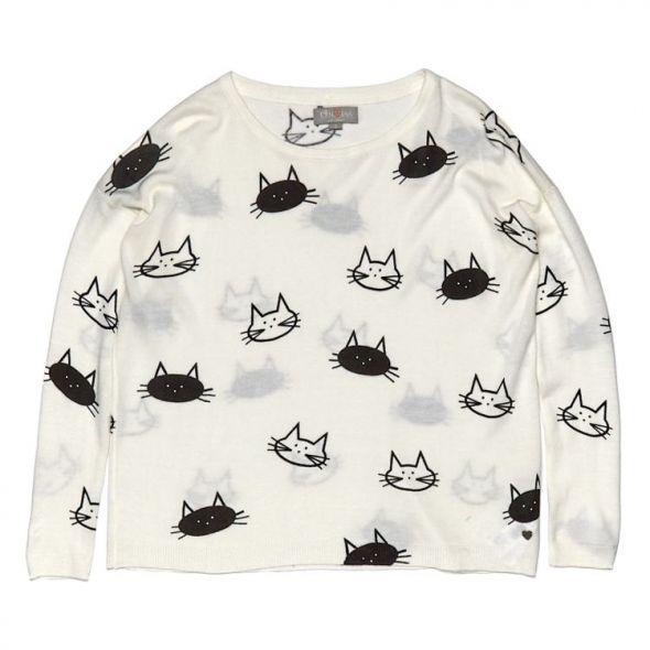 Sweterek w kotki CROPP