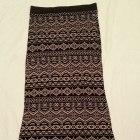 Spódnica Długa Maxi Aztec Azteckie Wzory 36 38 40