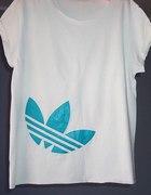 Neonowy Adidas Znak Biała Nowa Tunika 36 38