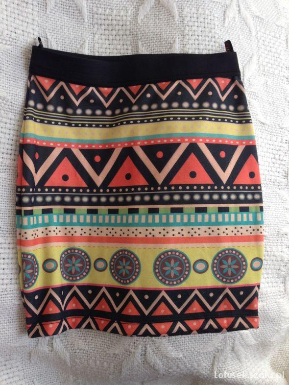 Spódnice spodnica aztecka