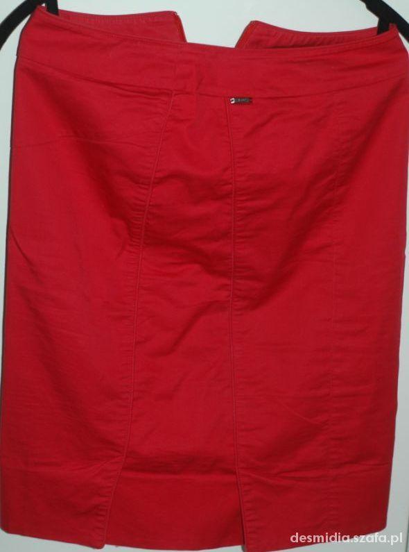 Spódnice czerwona spodnica solar 34 xs