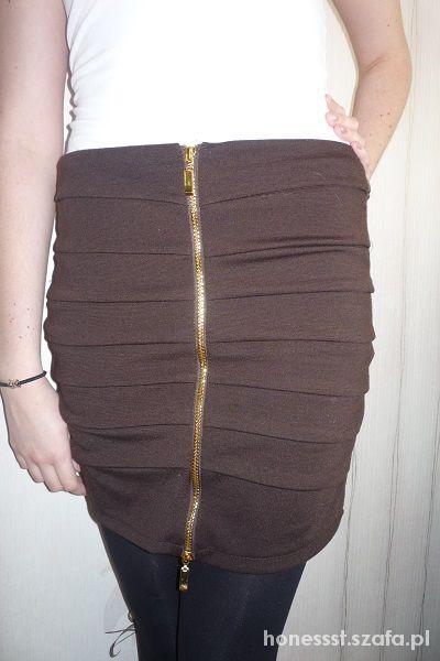 Spódnice spódniczka z zipem