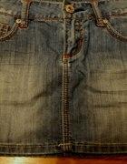 spódniczka jeansowa mini...