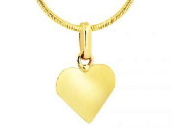 Złota zawieszka APART Kolekcja Love Love