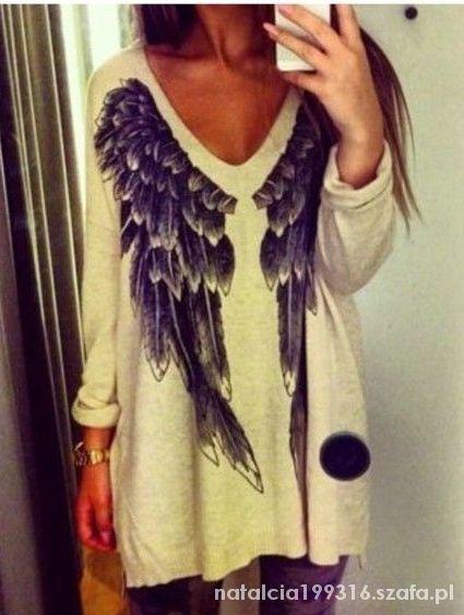 Poszukuje takiego sweterka z motywem wings